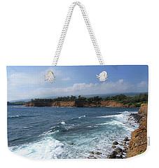 Weekender Tote Bag featuring the photograph Kolaha Coast by Pamela Walton