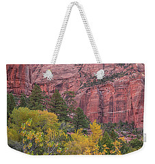 Kolob Canyon Colors Weekender Tote Bag