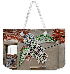 Weekender Tote Bag featuring the pyrography Kolomna Russia by Yury Bashkin