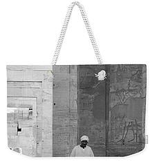 Kom Ombo Temple Weekender Tote Bag by Silvia Bruno