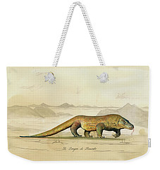 Komodo Dragon Weekender Tote Bag
