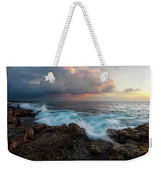 Weekender Tote Bag featuring the photograph Kona Gold by Ryan Manuel