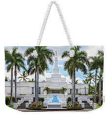 Kona Hawaii Temple-day Weekender Tote Bag
