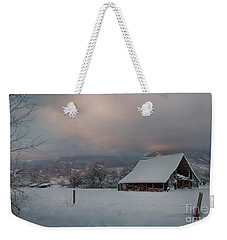Kootenai Valley Barn Weekender Tote Bag