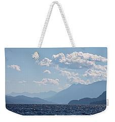 Kootenay Lake South Weekender Tote Bag by Cathie Douglas