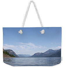 Weekender Tote Bag featuring the photograph Kootenay North by Cathie Douglas