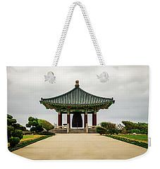 Korean Bell Of Friendship Weekender Tote Bag