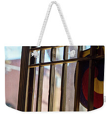 Weekender Tote Bag featuring the photograph Korean In Flagstaff by Carolina Liechtenstein