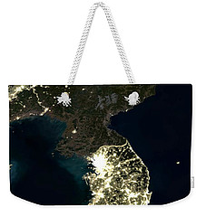 Korean Peninsula Weekender Tote Bag