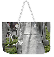 Korean War Memorial Weekender Tote Bag