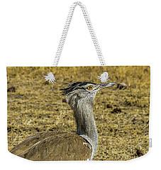 Kori Bustard On The Serengeti Weekender Tote Bag
