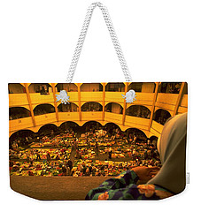 Weekender Tote Bag featuring the photograph Kota Bahru Indoor Market by Travel Pics