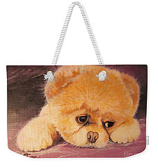 Koty The Puppy Weekender Tote Bag