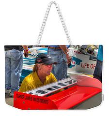 Kraig Johnson Driver Mechanic Raconteur Weekender Tote Bag