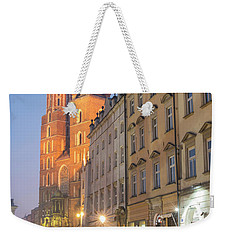 Weekender Tote Bag featuring the photograph Krakow by Juli Scalzi