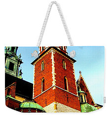 Weekender Tote Bag featuring the photograph Krakow Poland by Michelle Dallocchio