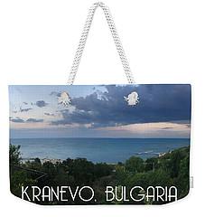 Kranevo Bulgaria Weekender Tote Bag