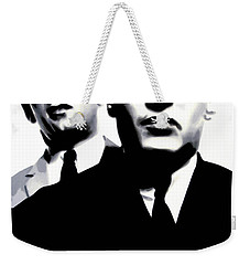 Kray Twins Weekender Tote Bag by Luis Ludzska