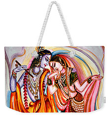 Krishna And Radha Weekender Tote Bag