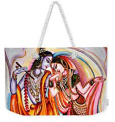 Krishna And Radha Weekender Tote Bag