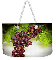 Krissy Gold Grapes Weekender Tote Bag by David French