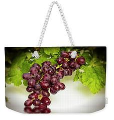 Krissy Gold Grapes Weekender Tote Bag