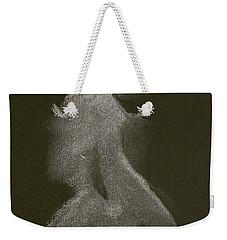 Kroki 2014 10 04_16 Figure Drawing White Chalk Weekender Tote Bag