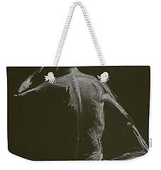 Kroki 2015 01 10_14 Figure Drawing White Chalk Weekender Tote Bag