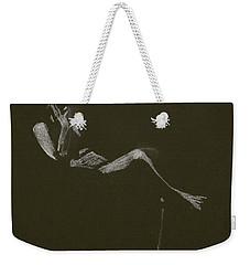 Kroki 2015 01 10_5 Figure Drawing White Chalk Weekender Tote Bag
