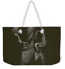 Kroki 2015 01 10_7 Figure Drawing White Chalk Weekender Tote Bag