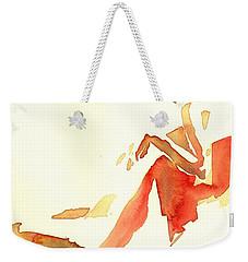 Kroki 2015 03 28_29 Maalarhelg 4 Akvarell Watercolor Figure Drawing Weekender Tote Bag