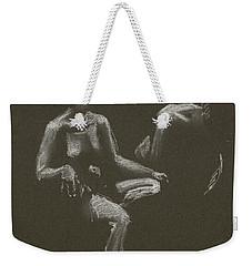 Kroki 2015 04 25 _3 Figure Drawing White Chalk Weekender Tote Bag