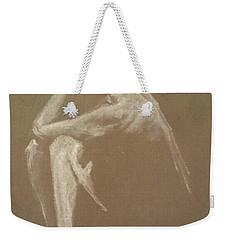 Kroki 2015 06 18_9 Figure Drawing White Chalk Weekender Tote Bag