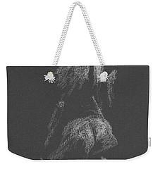 Kroki 2015 09 26 _3 Figure Drawing White Chalk Weekender Tote Bag