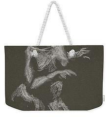 Kroki 2015 10 03_12 Figure Drawing White Chalk Weekender Tote Bag