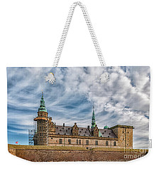 Weekender Tote Bag featuring the photograph Kronborg Castle In Denmark by Antony McAulay