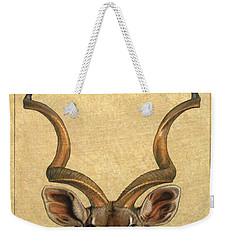 Kudu Weekender Tote Bag by James W Johnson
