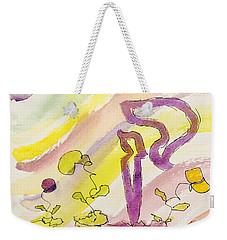 Kuf And Flowers Weekender Tote Bag