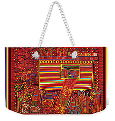 Kuna Indian Ark Weekender Tote Bag