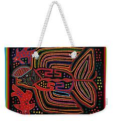 Kuna Indian Flying Fish  Weekender Tote Bag