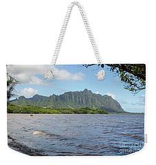 Kuoloa 1 Mountain Range Weekender Tote Bag