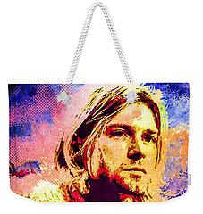 Kurt Cobain Weekender Tote Bag by Svelby Art