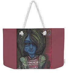 Kurt Cobalien Weekender Tote Bag by Similar Alien