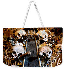 Weekender Tote Bag featuring the photograph Kutna Hora Cz by Michelle Dallocchio