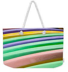 Kyak Rainbow Weekender Tote Bag