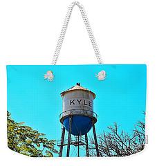 Kyle Texas Water Tower Weekender Tote Bag
