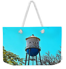 Kyle Texas Water Tower Weekender Tote Bag