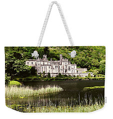 Kylemore Abbey Victorian Ireland Weekender Tote Bag by Menega Sabidussi