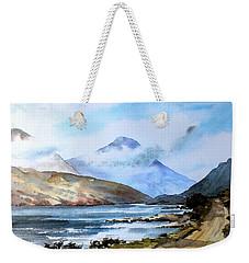 Kylemore Lough, Galway Weekender Tote Bag