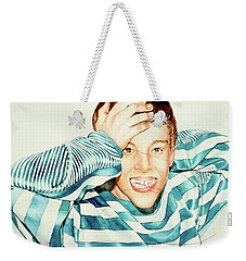 Kyle's Smile Or Fragile X Stressed Weekender Tote Bag